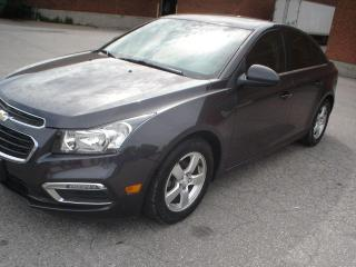 Used 2015 Chevrolet Cruze LT,LEATHER,SUNROOF,AUTO for sale in Mississauga, ON