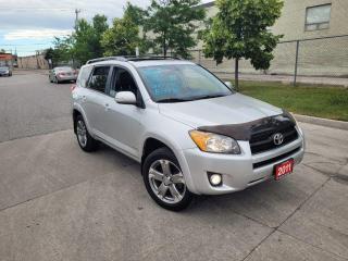 Used 2011 Toyota RAV4 Sport, Sunroof, Alloys, Low KM, 3/Y warranty avail for sale in Toronto, ON