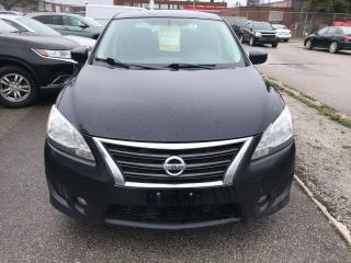 Used 2013 Nissan Sentra S,133KM,PUSH/START,SAFETY+3YEARS WARANTY extra$490 for sale in Toronto, ON
