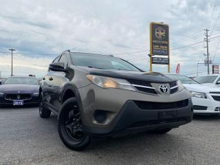 Used 2013 Toyota RAV4 AWD   LE   AS IS for sale in Brampton, ON