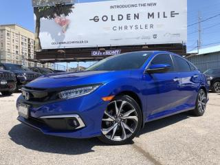 Used 2020 Honda Civic Touring No Accidents, Sunroof, Lane Departure Warning, Navi! for sale in North York, ON