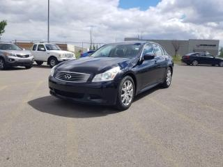 Used 2009 Infiniti G37 S I LEATHER I I $0 DOWN-EVERYONE APPROVED for sale in Calgary, AB
