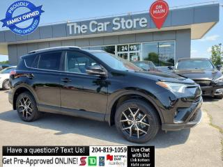 Used 2016 Toyota RAV4 AWD SE Leather Sunroof, Rear Cam NO ACCIDENTS! for sale in Winnipeg, MB