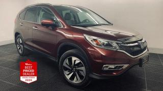 Used 2016 Honda CR-V AWD TOURING  *NAVIGATION - LANEWATCH - SUNROOF* for sale in Winnipeg, MB