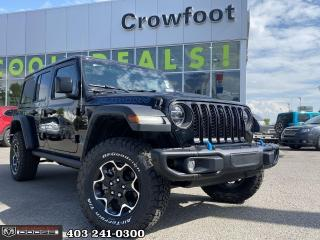 New 2021 Jeep Wrangler 4xe Unlimited Rubicon 4xe for sale in Calgary, AB