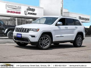 Used 2020 Jeep Grand Cherokee LIMITED | BLUETOOTH | LEATHER HEATED SEATS for sale in Simcoe, ON