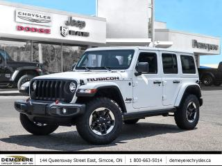 New 2021 Jeep Wrangler UNLIMITED RUBICON   DUAL TOP   NAVIGATION for sale in Simcoe, ON