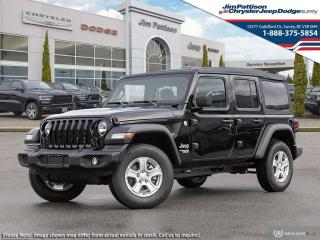 New 2021 Jeep Wrangler Unlimited Sport S for sale in Surrey, BC
