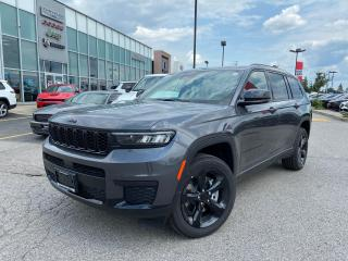 New 2021 Jeep Grand Cherokee All-New L Altitude for sale in Pickering, ON