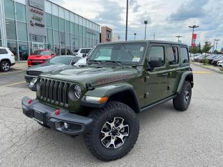 New 2021 Jeep Wrangler Unlimited Rubicon for sale in Pickering, ON