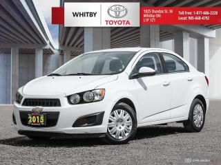 Used 2015 Chevrolet Sonic LT for sale in Whitby, ON