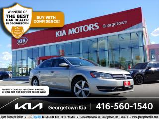 Used 2012 Volkswagen Passat COMFORTLINE   LEATHER   SUNROOF   HTD SEATS   B/T for sale in Georgetown, ON