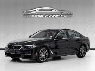 Used 2017 BMW 5 Series 530i xDrive M Sport, Navigation, Camera, HUD, Clean CarFax for sale in Concord, ON