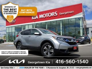Used 2017 Honda CR-V LX  CLN CRFX  BU CAM   HTD SEATS  BT   42K  ALLOYS for sale in Georgetown, ON