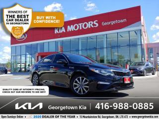 Used 2019 Kia Optima LX+| 1 OWNR | CLN CRFX | BU CAM | HTD SEATS | 57K for sale in Georgetown, ON