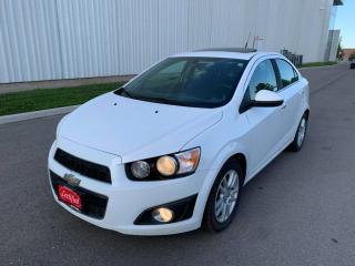 Used 2014 Chevrolet Sonic 4dr Sdn LT Auto for sale in Mississauga, ON