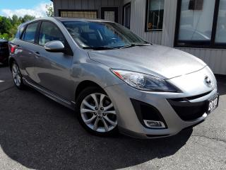 Used 2010 Mazda MAZDA3 SPORT GT - LEATHER! SUNROOF! BLUETOOTH! for sale in Kitchener, ON