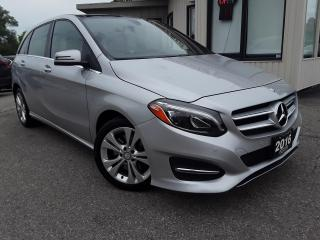 Used 2016 Mercedes-Benz B-Class B250 4MATIC - LEATHER! NAV! BACK-UP CAM! BSM! PANO ROOF! for sale in Kitchener, ON