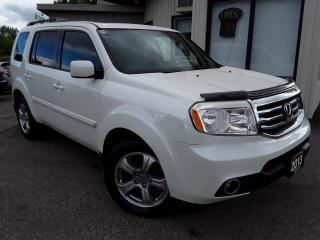 Used 2013 Honda Pilot EX-L 4WD - LEATHER! BACK-UP CAM! SUNROOF! 8 PASS! for sale in Kitchener, ON
