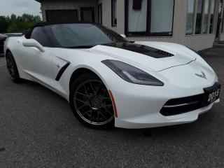 Used 2015 Chevrolet Corvette StingRay 1LT Convertible - LEATHER! BACK-UP CAM! BOSE AUDIO! for sale in Kitchener, ON