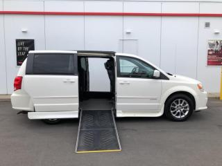 Used 2013 Dodge Grand Caravan R/T-MOBILITY WHEELCHAIR VAN-LEATHER-CAMERA-DVD SYSTEM for sale in Toronto, ON