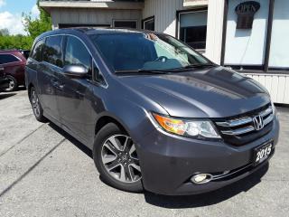 Used 2015 Honda Odyssey Touring - LEATHER! NAV! BACK-UP CAM! BSM! DVD! 8 PASS! for sale in Kitchener, ON