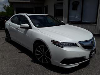 Used 2017 Acura TLX 9-Spd AT SH-AWD w/Technology Package - LEATHER! NAV! BACK-UP CAM! BSM! for sale in Kitchener, ON