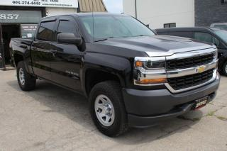 Used 2017 Chevrolet Silverado 1500 4WD Crew Cab 5.3L Back camera Bluetooth for sale in Mississauga, ON