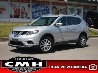 Used 2016 Nissan Rogue S  AWD CAM BLUETOOTH S/W-AUDIO for sale in St. Catharines, ON