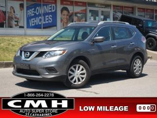 Used 2016 Nissan Rogue S  CAM BLUETOOTH S/W-AUDIO PWR-GROUP for sale in St. Catharines, ON