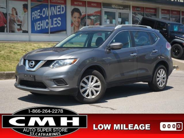 2016 Nissan Rogue S  CAM BLUETOOTH S/W-AUDIO PWR-GROUP