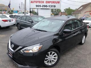 Used 2017 Nissan Sentra SV w/Sunroof Alloys/Camera/Heated Seats&GPS* for sale in Mississauga, ON