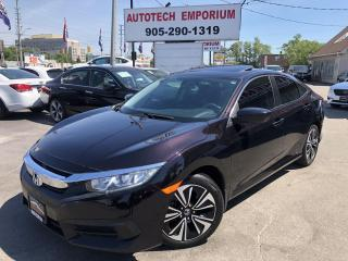 Used 2016 Honda Civic EX Navigation/Sunroof/Side Camera/Alloys for sale in Mississauga, ON