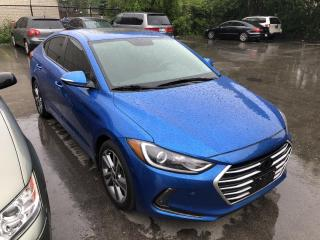 Used 2017 Hyundai Elantra GLS Navigation/Alloys/Blind Spot/Sunroof for sale in Mississauga, ON