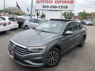 Used 2019 Volkswagen Jetta Highline Navigation/Leather/Camera/Alloys for sale in Mississauga, ON