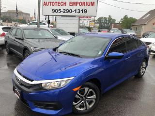 Used 2016 Honda Civic LX Navigation/Camera/Bluetooth/Heated Seats for sale in Mississauga, ON