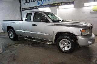Used 2008 Dodge Dakota SXT 4x4 CERTIFIED 2YR WARRANTY *FREE ACCIDENT* BLUETOOTH CRUISE ALLOYS AUX for sale in Milton, ON
