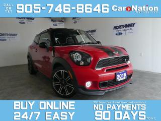 Used 2016 MINI Cooper Paceman S | JCW PKG | AWD | NAV | SUNROOF | 6 SPEED M/T for sale in Brantford, ON
