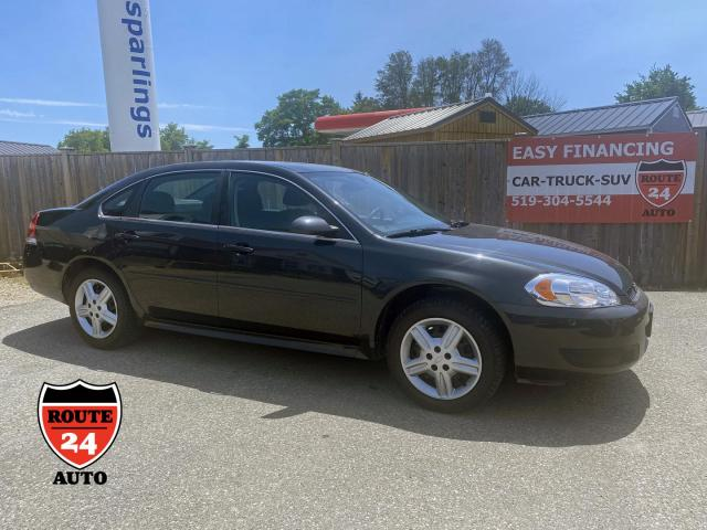 2012 Chevrolet Impala Police Cruiser Really great condition, added safety features, low kilometers