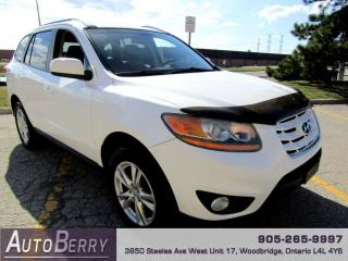 Used 2011 Hyundai Santa Fe GLS 3.5 FWD Accident Free One Owner!!! for sale in Woodbridge, ON