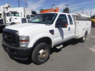 Used 2009 Ford F-350 SD Service Truck  SuperCab  Dually  4WD Diesel With Power Tailgate for sale in Burnaby, BC