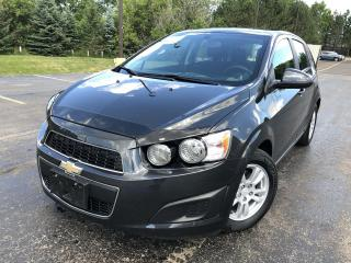 Used 2014 Chevrolet Sonic LT 2WD for sale in Cayuga, ON