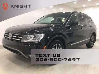 Used 2018 Volkswagen Tiguan Comfortline 4MOTION | Remote Start | Sunroof | for sale in Regina, SK