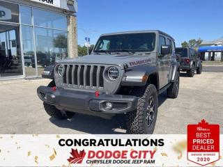 New 2021 Jeep Wrangler Unlimited Rubicon-4WD,Leather,Htd.Seats/Wheel for sale in Saskatoon, SK