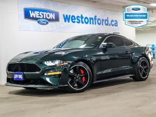 Used 2020 Ford Mustang Bullitt+CAMERA+NAVIGATION+HEATED&COOLED SEATS+B&O AUDIO for sale in Toronto, ON