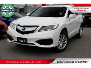 Used 2018 Acura RDX AWD Leather Sunroof Backup Camera for sale in Whitby, ON