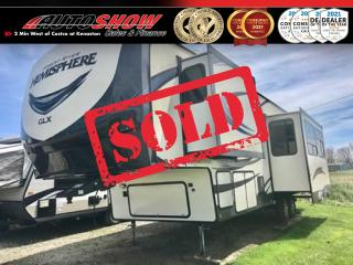 New 2019 Salem Hemisphere by Forest River GLX 295BH BRAND NEW Bunkhouse 5th Wheel! $72,899 MSRP for sale in Winnipeg, MB
