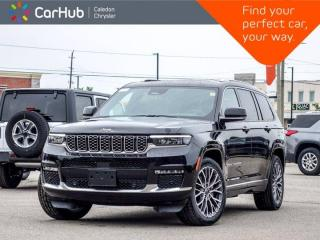 New 2021 Jeep Grand Cherokee L Summit Reserve 4x4 6Seater Navigation Panoramic Sunroof Night Vision Remote Start Leather 21
