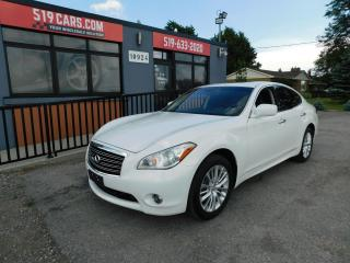Used 2012 Infiniti M37 Leather | Sunroof |AWD|Bose Stereo System for sale in St. Thomas, ON