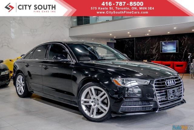 2016 Audi A6 S-Line - Technik - Approval->Bad Credit-No Problem
